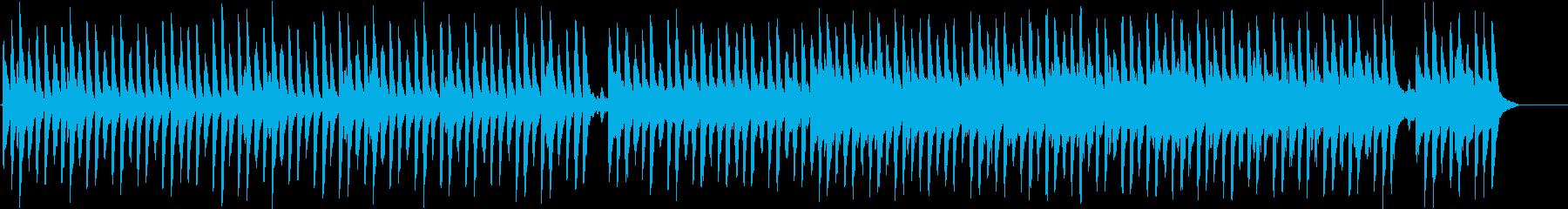 クリスマスソング「サイレントナイト」の再生済みの波形