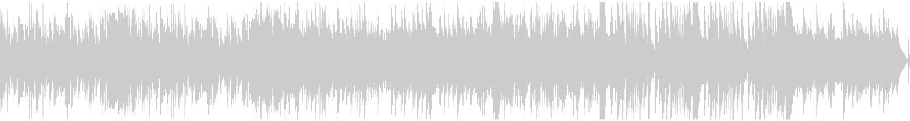 ファンシー&軽快なオーケストラ(ループ)の未再生の波形