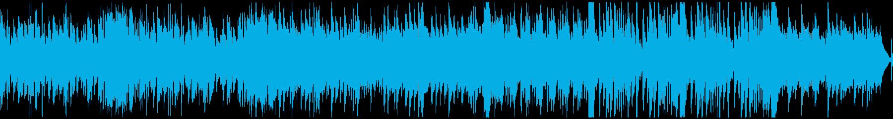 ファンシー&軽快なオーケストラ(ループ)の再生済みの波形