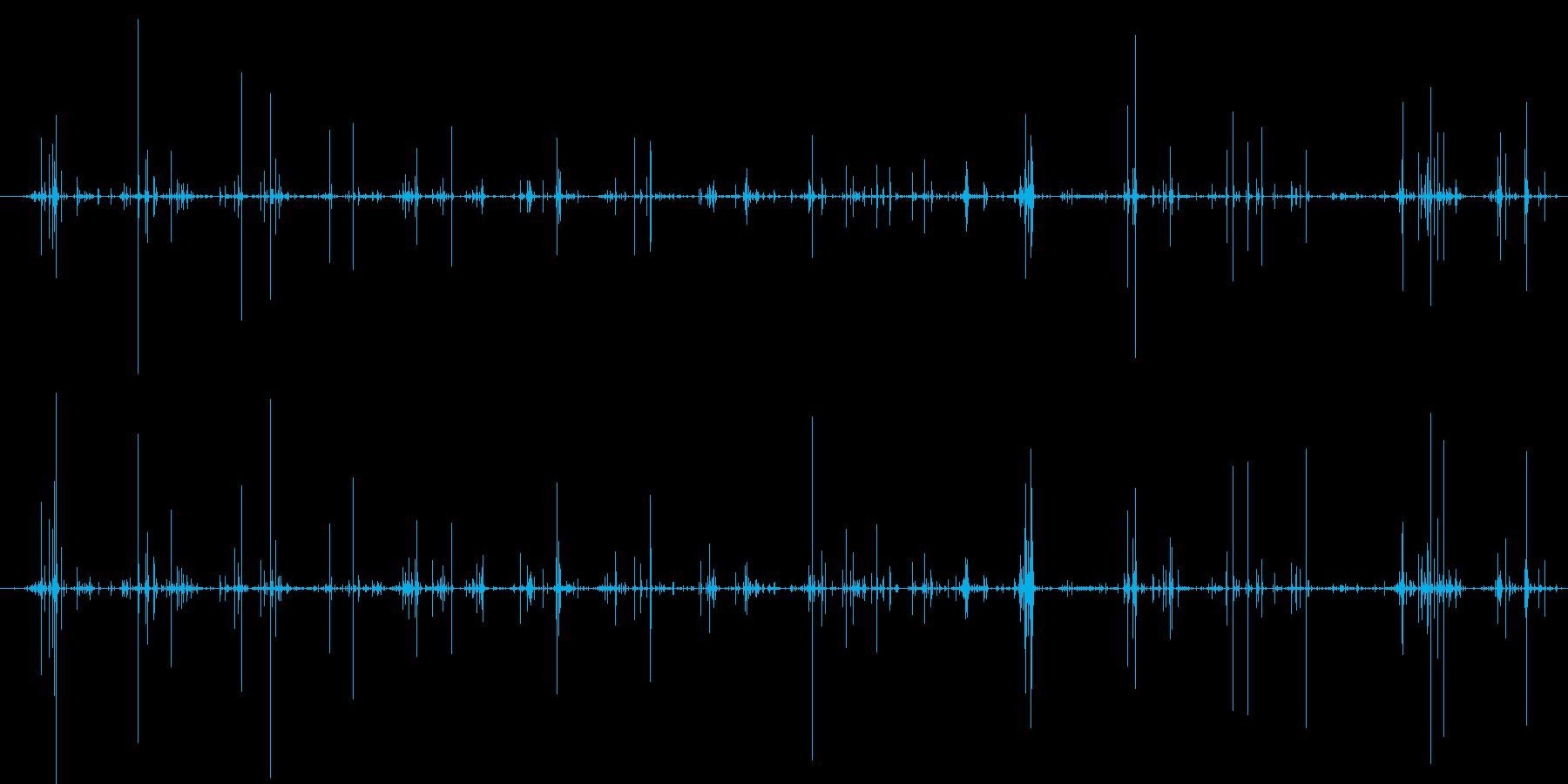 木 竹クラックシーケンス05の再生済みの波形