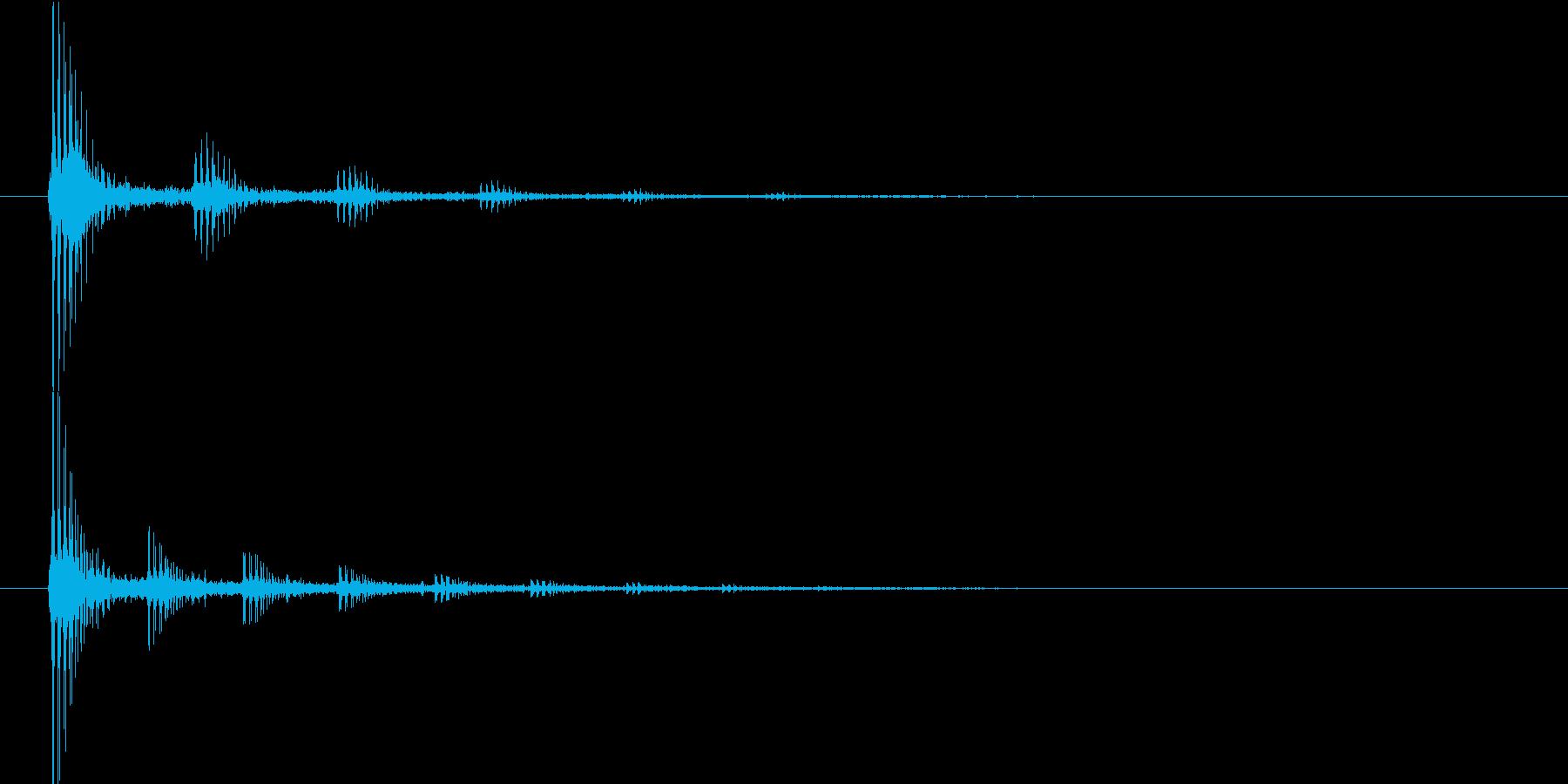 ビョンビョン(宇宙船内の音)の再生済みの波形