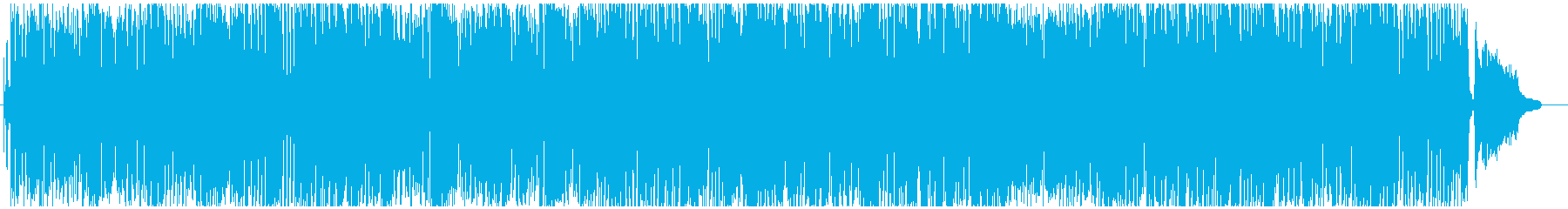 Fashionable and retro BGM of trumpet's reproduced waveform