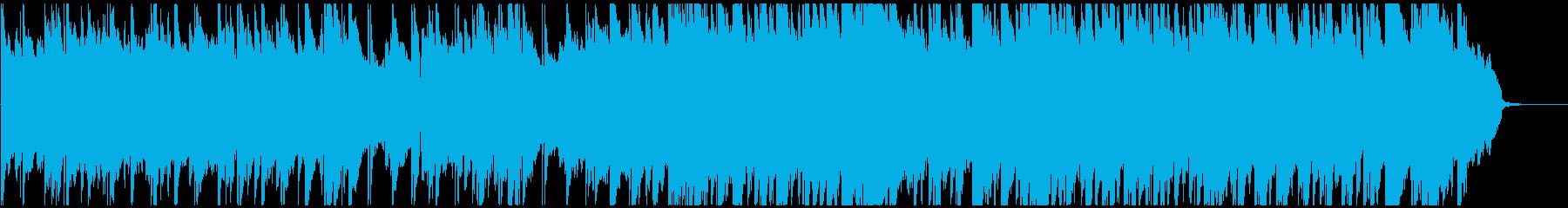 ピアノとストリングス主体の優しいバラードの再生済みの波形