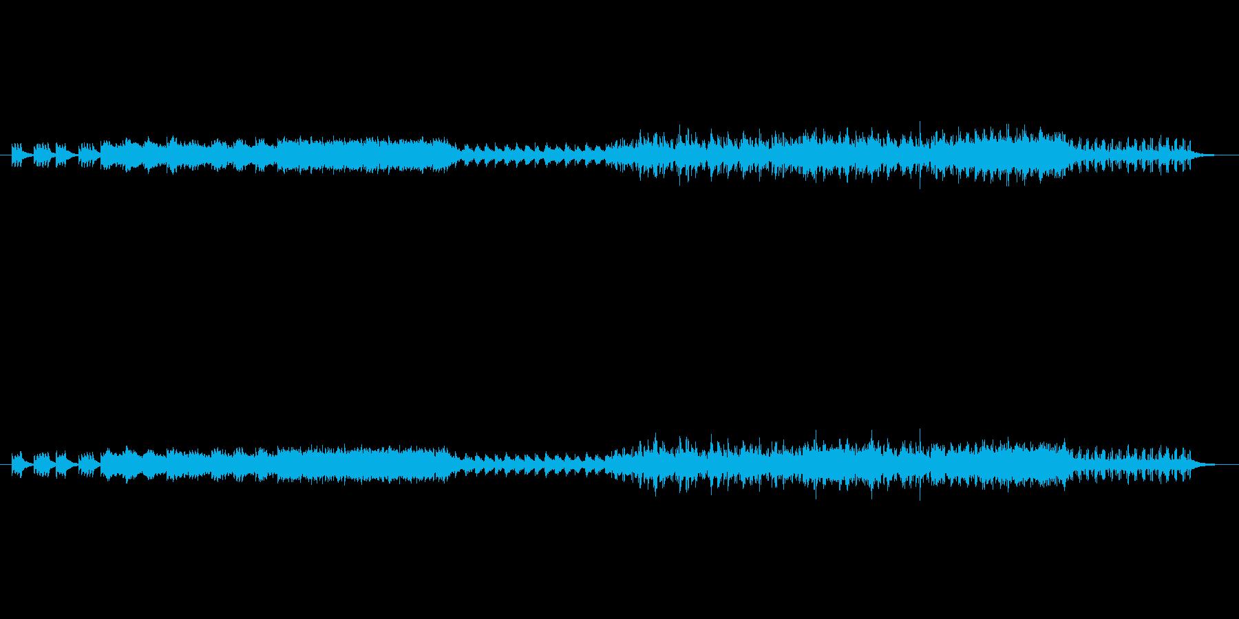 ピアノをメインに据え、Strings、…の再生済みの波形