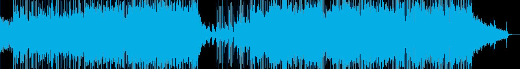 助走して駆け出すバイオリンポップス 長尺の再生済みの波形