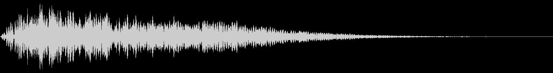 ホラー系アタック音62の未再生の波形
