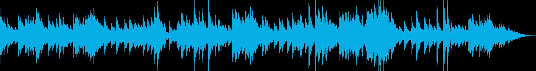 生演奏 気怠いピアノ曲の再生済みの波形