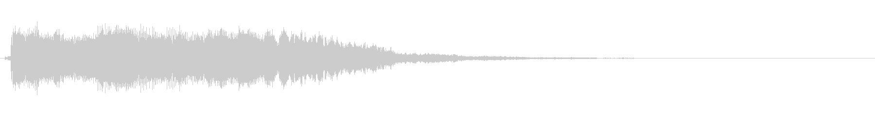 ロックブルースバンパー1の未再生の波形