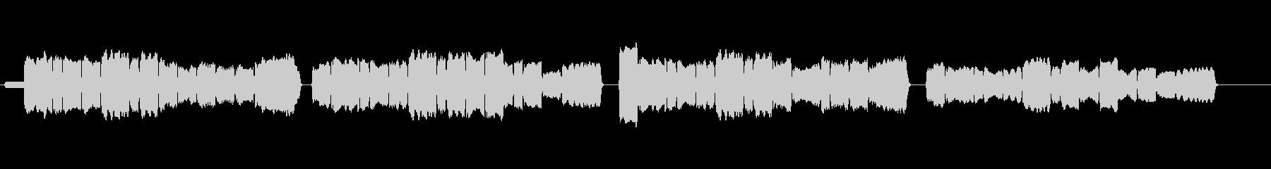 蛍の光 リコーダーの未再生の波形