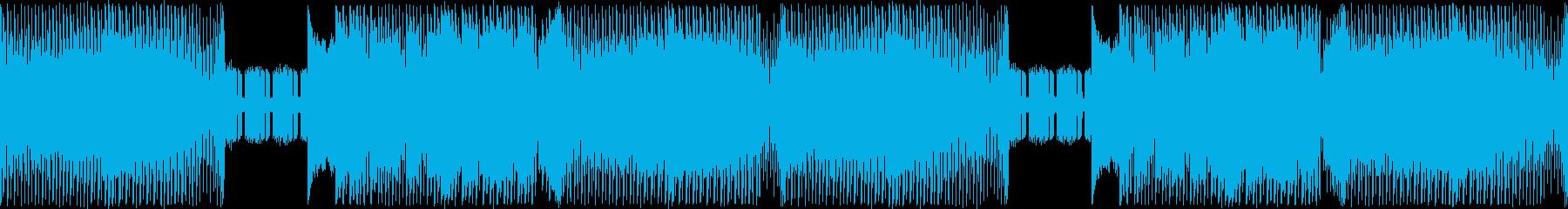ジュリアナ系ハイパーテクノレイブ重厚の再生済みの波形