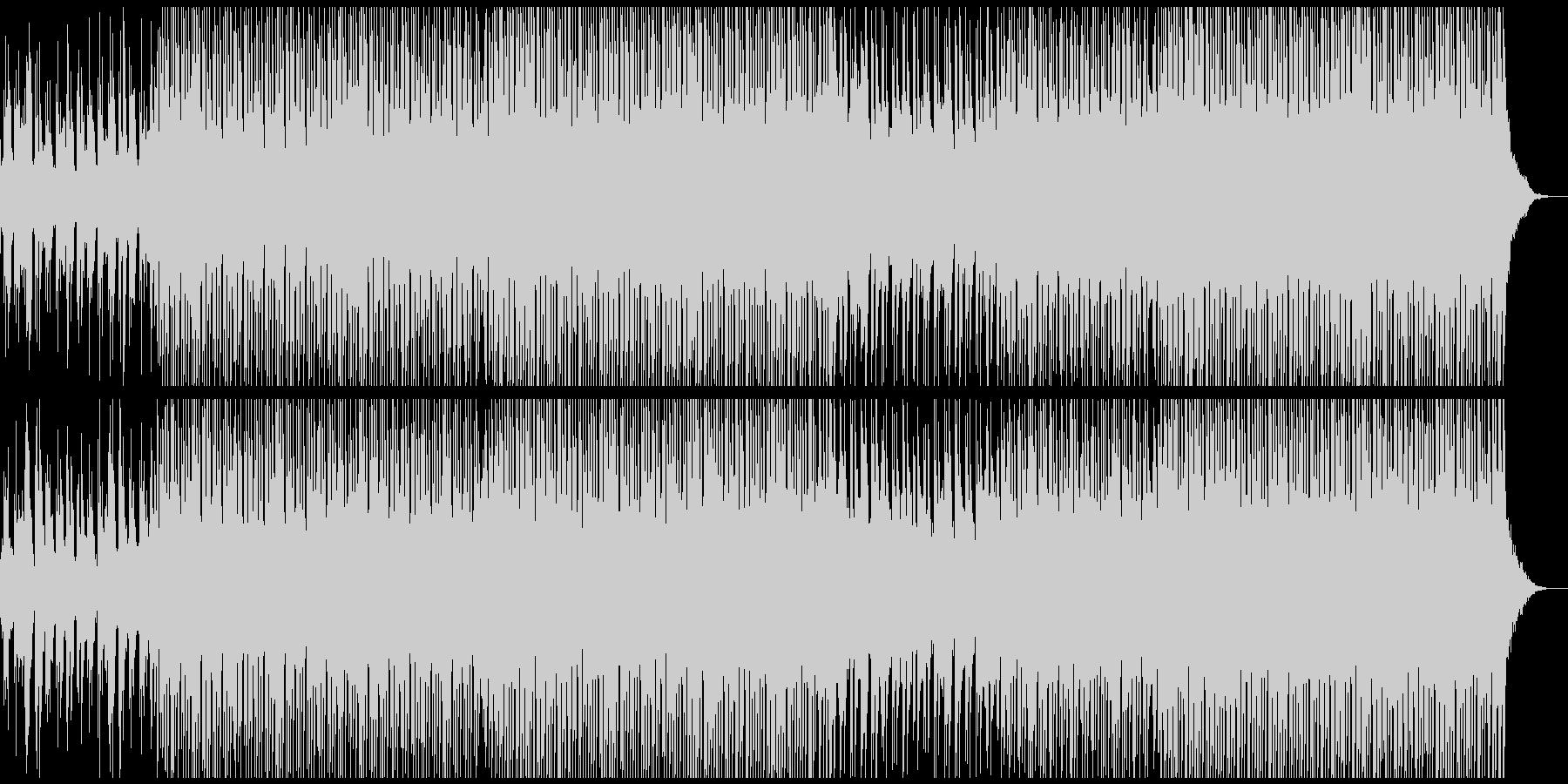 サマーファンの未再生の波形