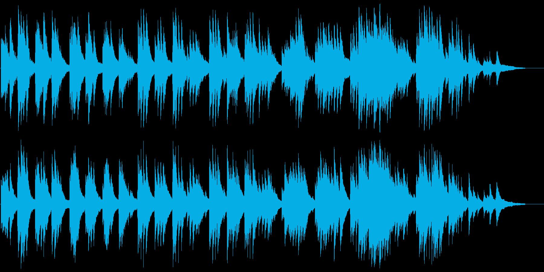 のどかでゆったり流れるピアノソロの再生済みの波形