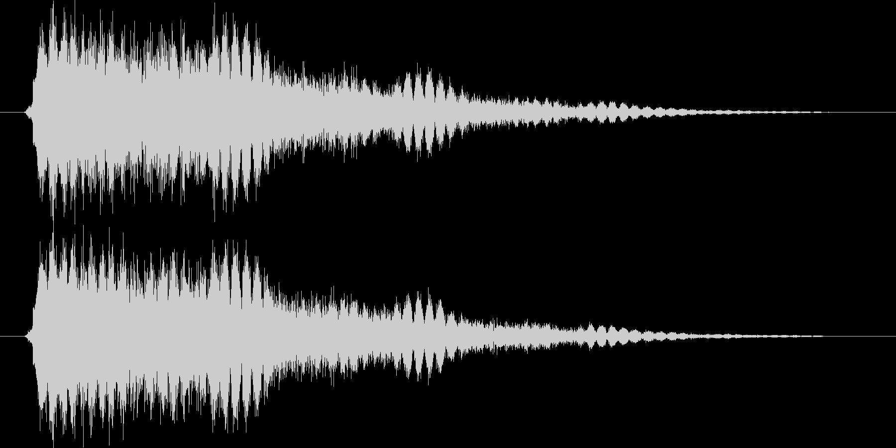 ガシュー(ロボ、機械)の未再生の波形