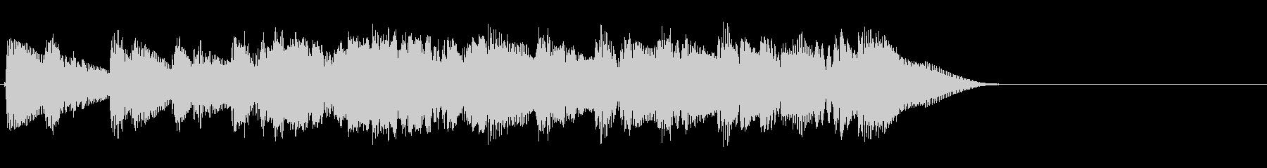 グランドピアノ:面白いランニングア...の未再生の波形