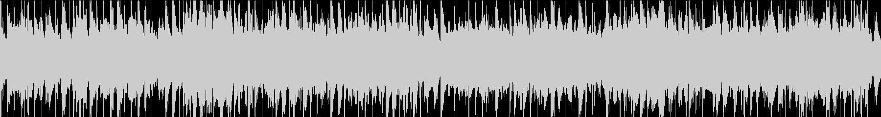 柔らかな弦、ピアノ、クリーンなエレ...の未再生の波形