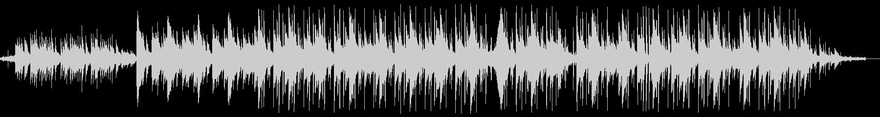 ローファイヒップホップ 川 鳥の未再生の波形