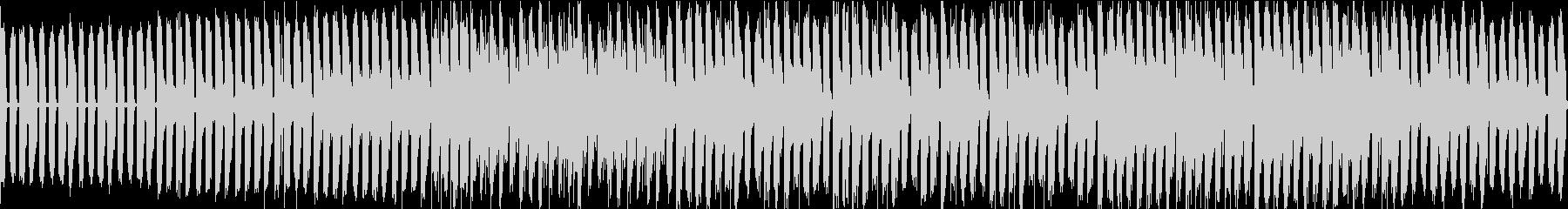 edm風のバトルbgmの未再生の波形