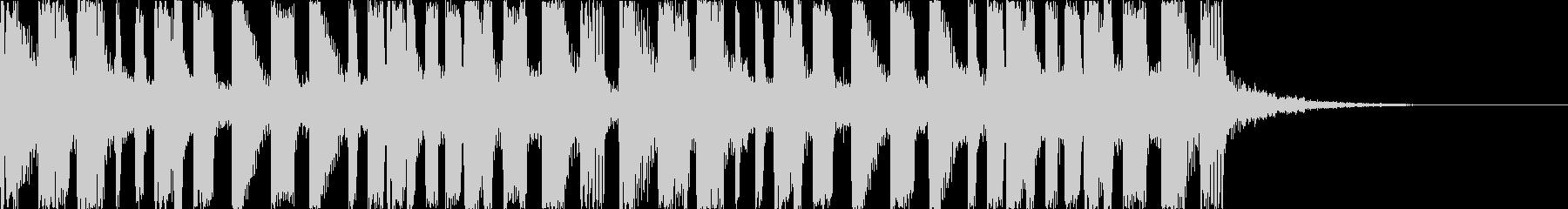 キャッチーで印象的なEDMの未再生の波形