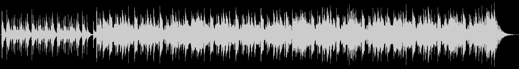 ハーモニカの明るいオープニング曲の未再生の波形