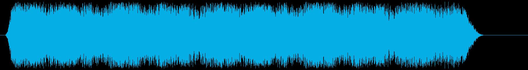 サッカー電子スコアボードの再生済みの波形