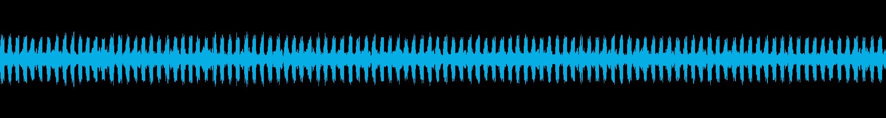 [秋の夜長] 虫の音-ツヅレサセコオロギの再生済みの波形