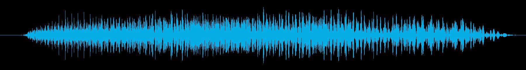 ゾンビ:ゴロゴロの再生済みの波形