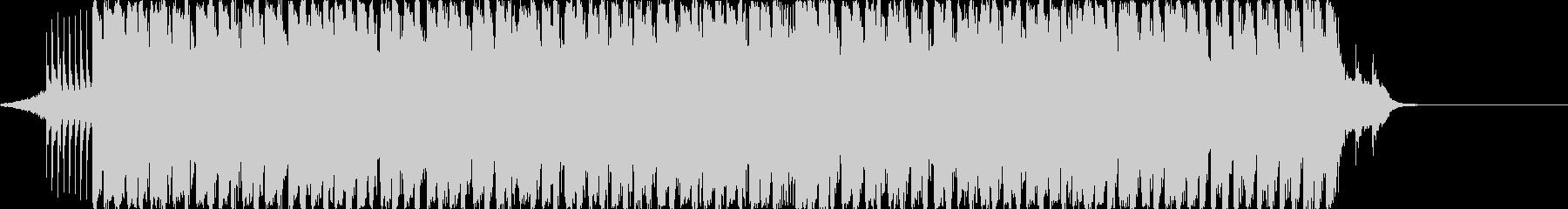 アップテンポでお洒落なジングル/BGMの未再生の波形