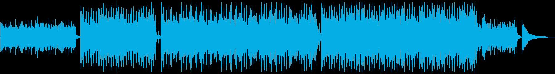 明るくハッピーなバイオリンx1の再生済みの波形