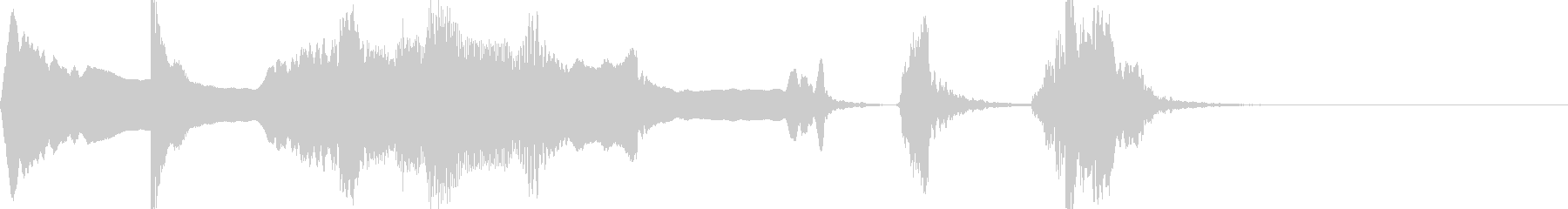 本格歌舞伎掛け声ジングル 1.3の未再生の波形