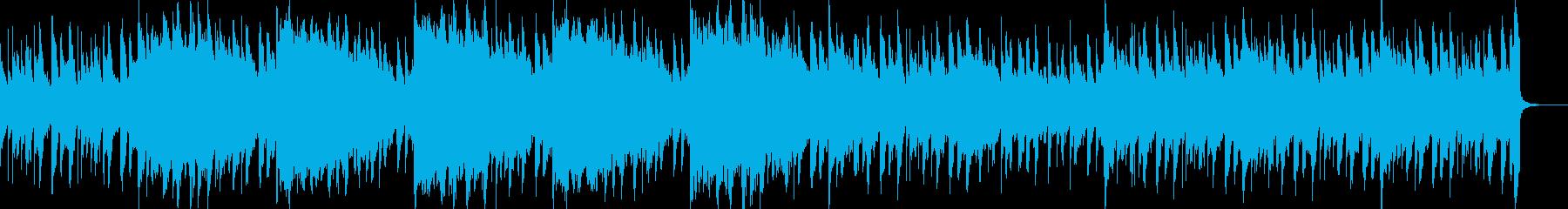 楽しい・のどか アコギ・フルート・ピアノの再生済みの波形