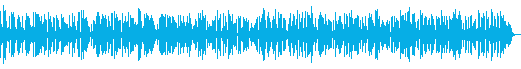 Retro jazz that seems to be playing at Disney's reproduced waveform
