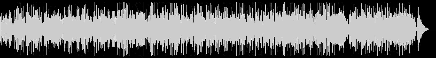アコースティックのギターデュオの未再生の波形