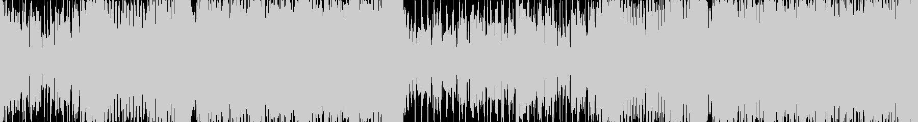 可愛いシンセ、メロの和風EDM ループの未再生の波形