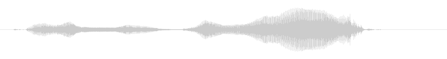 Hello. The voice of a 5-year-old boy.'s unreproduced waveform