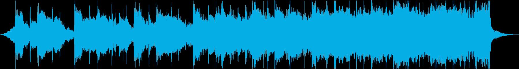 CM映像感動系アコースティックギターcの再生済みの波形