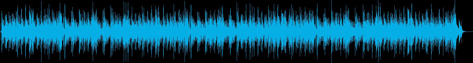 初期ノラジョーンズ風の癒し系ピアノポップの再生済みの波形