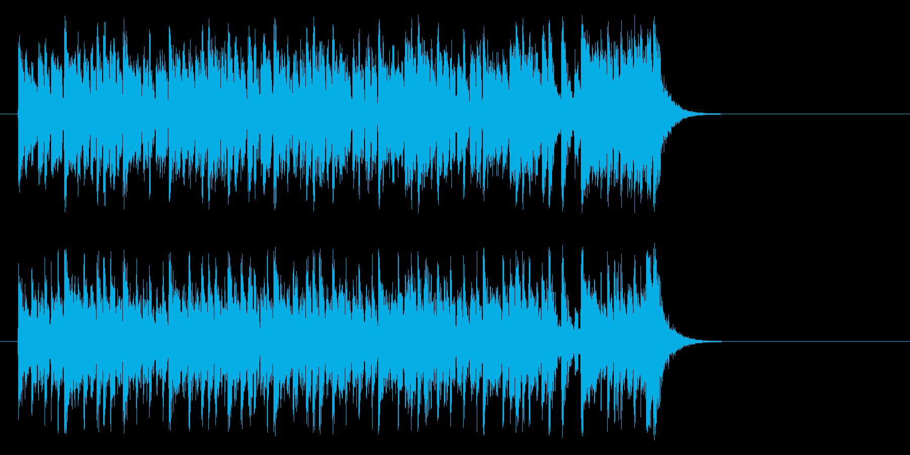 夢へと駆け出すポップ(イントロ)の再生済みの波形