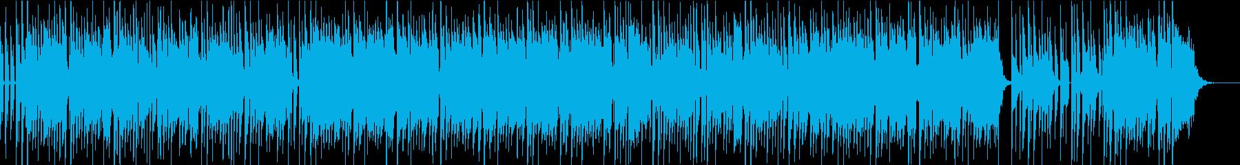音楽番組にピッタリ、元気の出るポップスの再生済みの波形