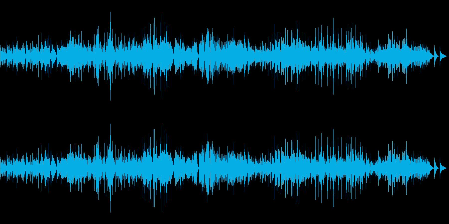 暗い情熱、ハープソロ『月光ソナタ』の再生済みの波形