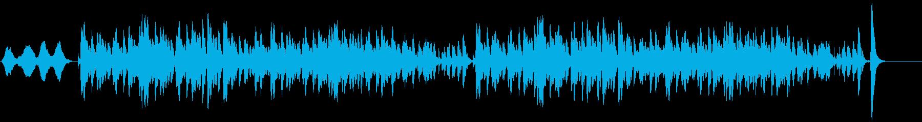 チェロとはじき出されたチェロの音は...の再生済みの波形
