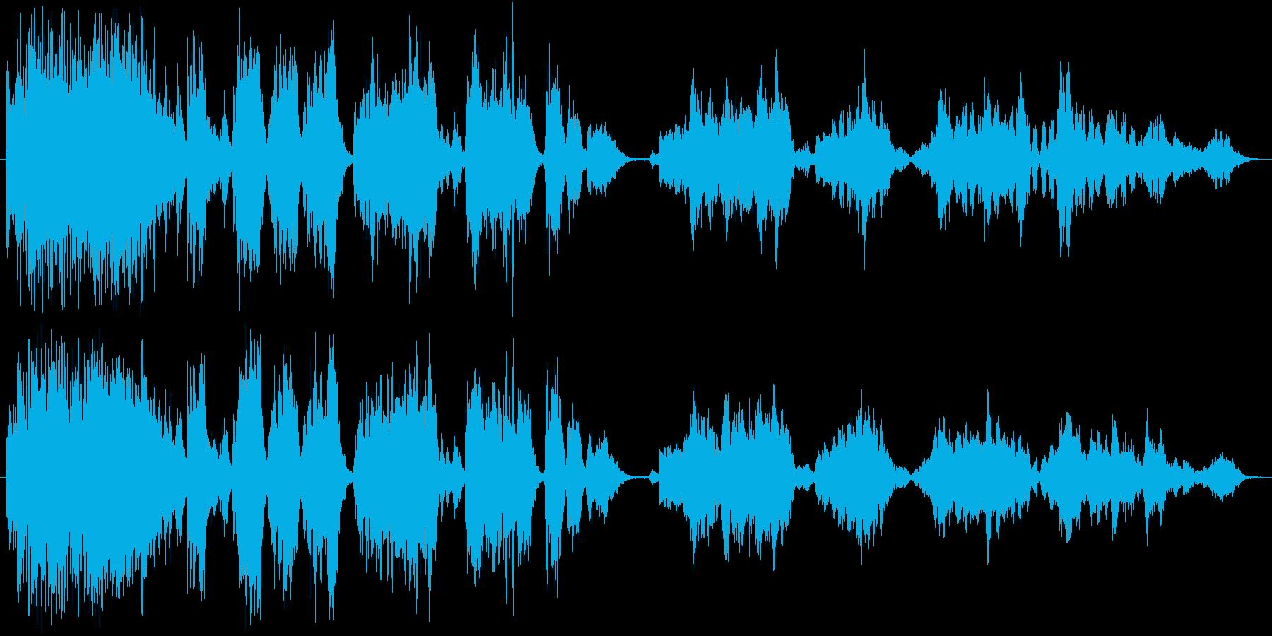 クラシック 楽しげ ハイテク エキ...の再生済みの波形