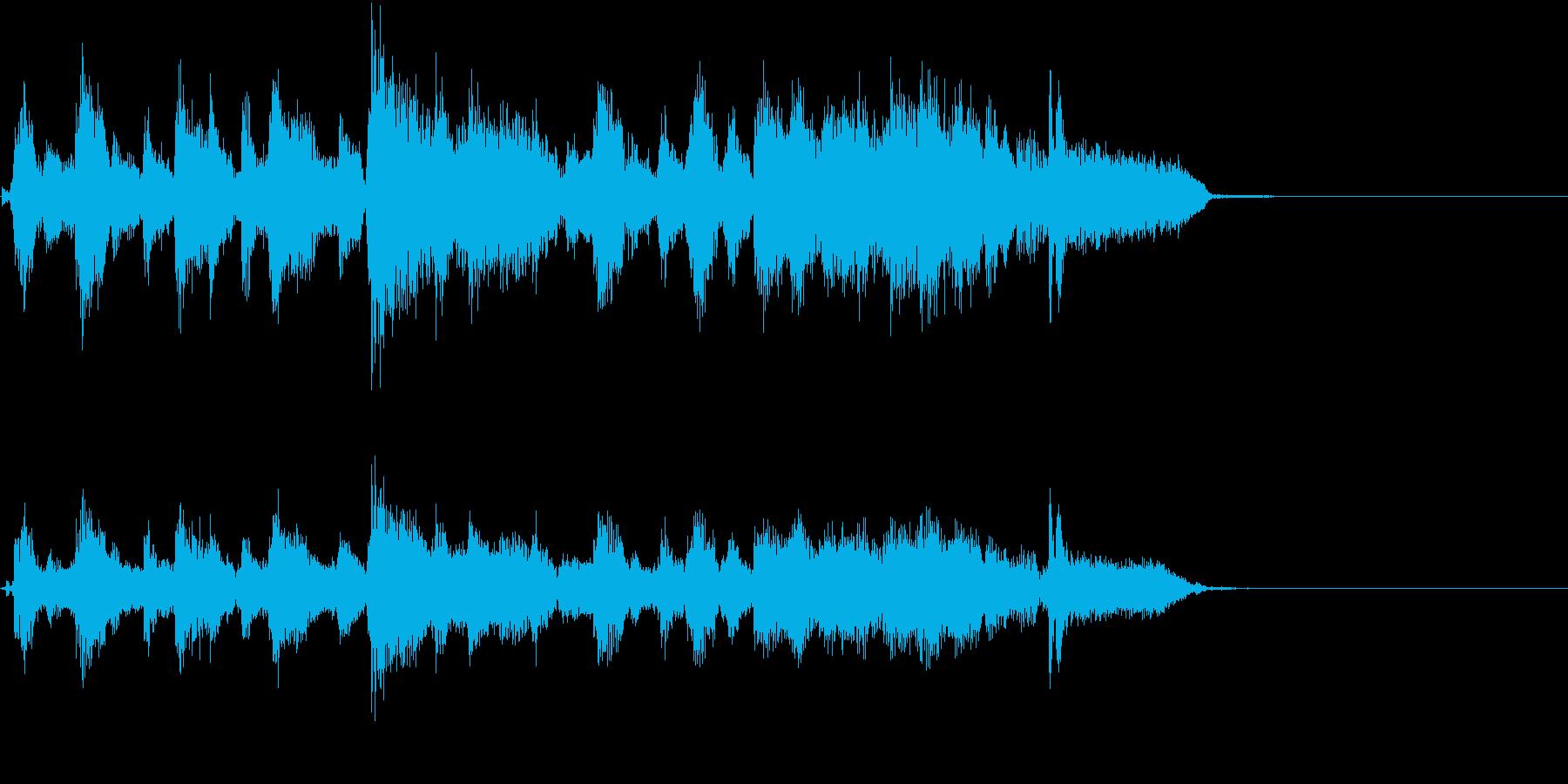 1984年頃のアメリカンハードロックの再生済みの波形
