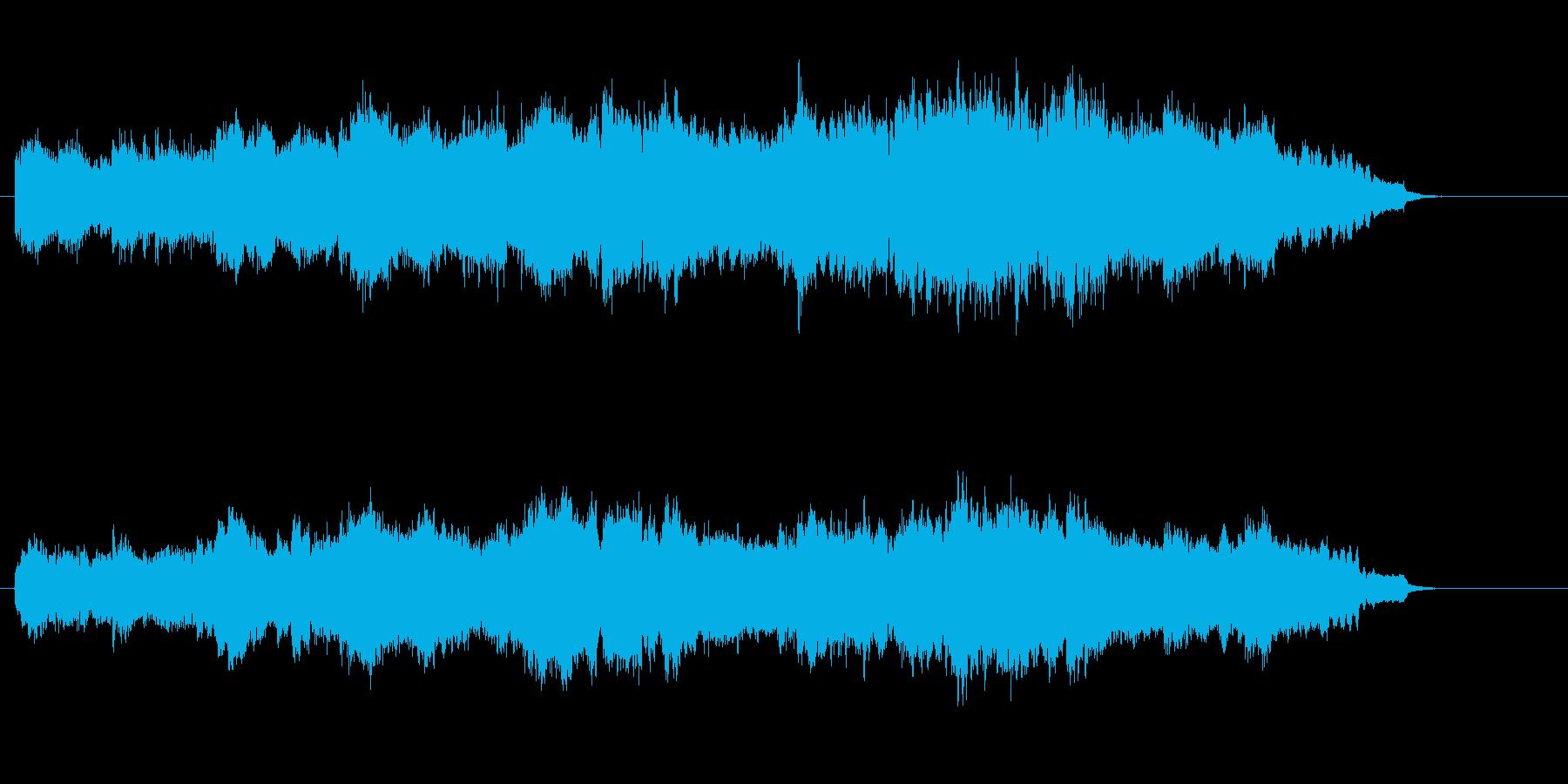 エレガントなショート・アンビエントの再生済みの波形