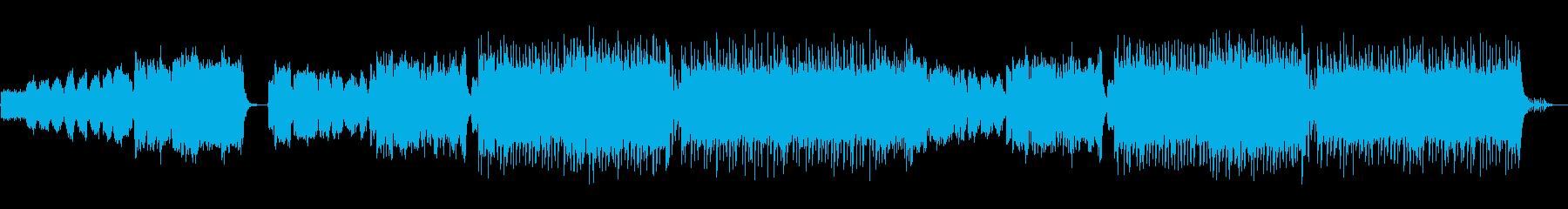 勝利を確信できるオーケストラEDMの再生済みの波形
