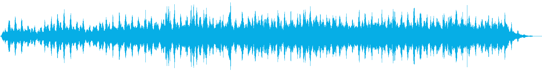 夕焼けをイメージしたアンビエントの再生済みの波形