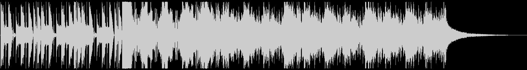 ライザップ風ボイスパーカッションの楽曲の未再生の波形