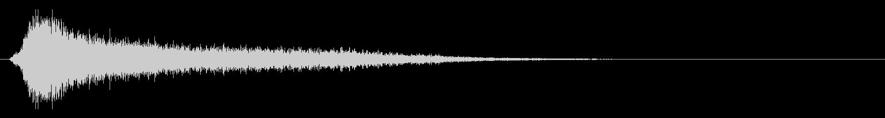 サスペンスピアノ音_3-3の未再生の波形