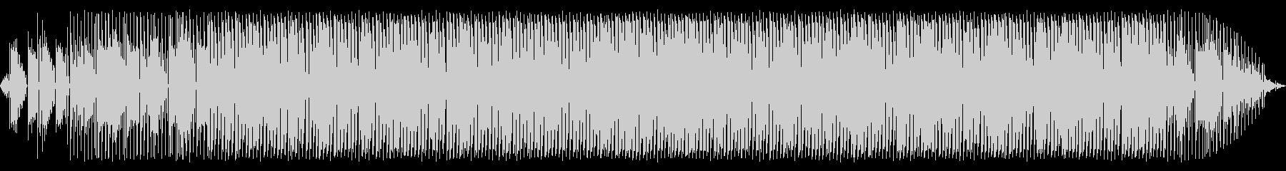 エレピが特徴のループミュージックの未再生の波形