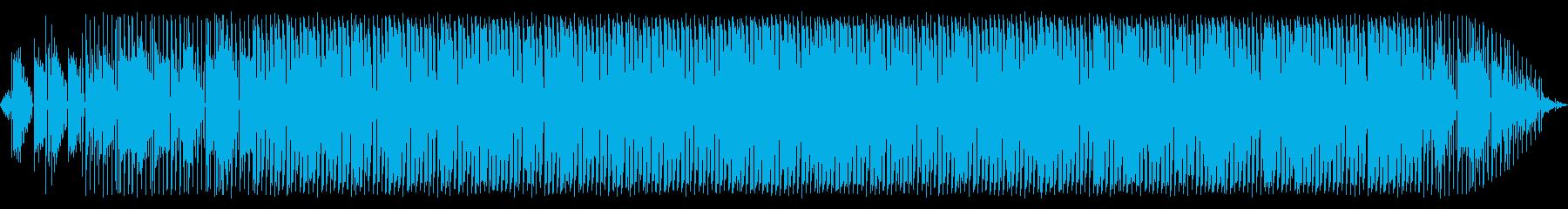 エレピが特徴のループミュージックの再生済みの波形
