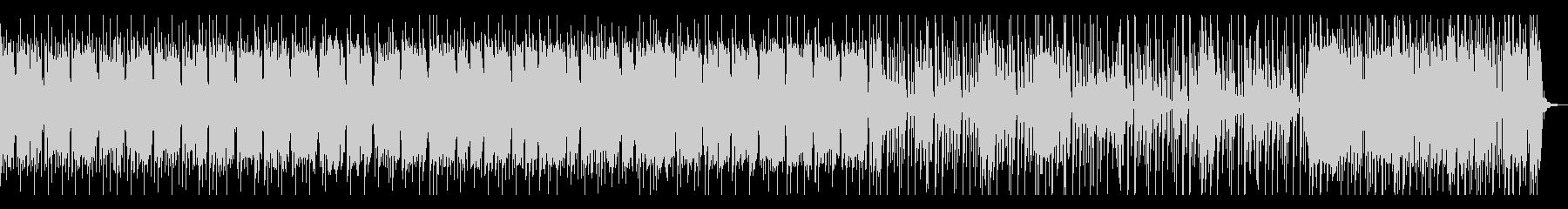 ベースリフにシンセのゆらぎ、2パートありの未再生の波形
